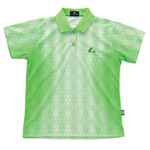 LUCENT(ルーセント) Ladies ゲームシャツ(パステルグリーン) XLP4645
