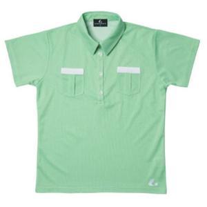 LUCENT(ルーセント) Ladies ゲームシャツ(グリーン) XLP4715