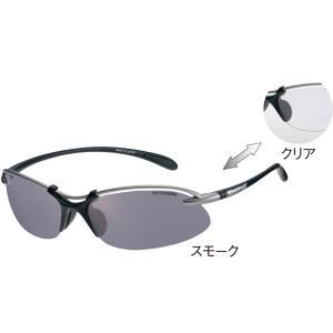 SWANS(スワンズ) Airless−Wave−Ph 【調光レンズ】 518 マットチタンシルバー×マットブラック SA518 MTSIL spg-sports