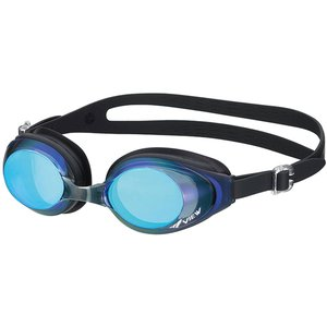 VIEW(ビュー) FITNESSミラーゴーグル V610MR ブラックブルー