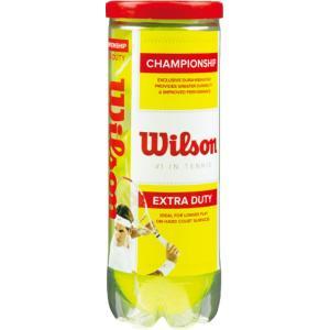 Wilson(ウイルソン) 【硬式テニス用ボール】 チャンピオンシップ・エクストラ・デュティー(3球入) WRT10|spg-sports