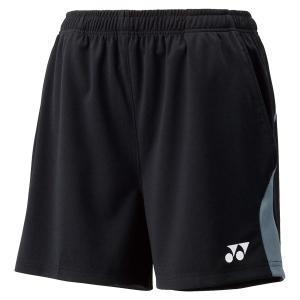 Yonex ヨネックス  UNI ニットハーフストレッチパンツ 15043 ブラック|spg-sports