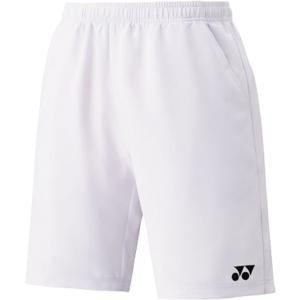 Yonex ヨネックス  男女兼用 テニスウェア UNI ハーフパンツ スリムフィット _15048 15048 ホワイト|spg-sports