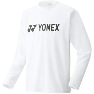 Yonex(ヨネックス) 男女兼用 テニスウェア ユニ ロングスリーブTシャツ 16158 ホワイト|spg-sports