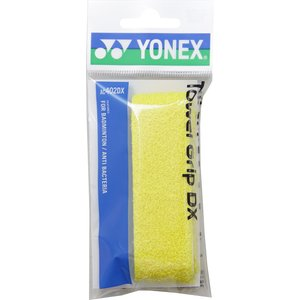 Yonex(ヨネックス) タオルグリップ_DX(1本入) AC402DX イエロー