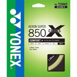 Yonex(ヨネックス) ソフトテニス用ガット エアロンスーパー850クロス ATG850X ナチュ...