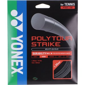 Yonex(ヨネックス) ポリツアーストライク130 硬式テニス用ガット(ストリングス) PTGST...