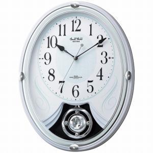 電波アミューズ時計 全6曲メロディ入り  ■商品名 スモールワールド 電波メロディ掛時計  ■内容 ...