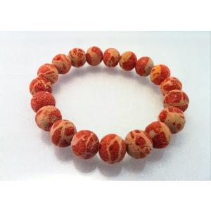 ツジモト真珠の本珊瑚 ブレスレット 赤珊瑚 アフリカ珊瑚 未処理タイプ spicapearl