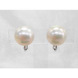 ツジモト真珠のマベパール イヤリング 田崎のマベ(A) 15mmアップ|spicapearl