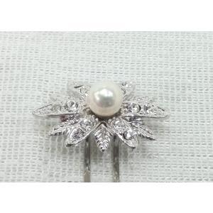 ツジモト真珠のかんざし あこや本真珠 髪飾り 真珠 着物装飾品 インカの星 spicapearl