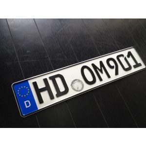 ◆ ドイツ ユーロプレート ◆ EURO USED ナンバープレート ◆ HDOM901 ◆|spiestore