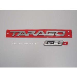 ACR50/GSR50系 トヨタ エスティマ オーストラリア仕様 TOYOTA TARAGO トヨタ純正リアエンブレム TARAGO GLi|spiestore