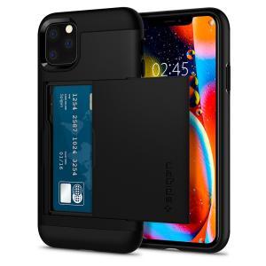 Spigen スマホケース iPhone 11 Pro ケース スリム・アーマー CS 5.8インチ 対応 米軍MIL規格取得 カード 収納 耐衝撃 指紋防止 傷防止 衝撃 吸収|spigenjapan2009