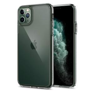 Spigen スマホケース iPhone11 Pro ケース 5.8インチ 対応 背面 クリア 米軍MIL規格取得 耐衝撃 カメラ保護 衝撃吸収 Qi充電  ウルトラ・ハイブリッド|spigenjapan2009