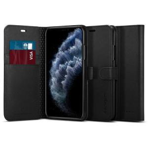 Spigen スマホケース iPhone11 Pro ケース ウォレットS サフィアーノ 5.8インチ 対応 手帳型ケース カード収納付き スタンド機能 ワイヤレス充電対応|spigenjapan2009
