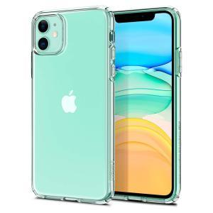 Spigen スマホケース iPhone11 ケース リキッド・クリスタル 6.1インチ 対応 TPU 傷防止 レンズ保護 超薄型 超軽量 Qi充電 ワイヤレス充電 クリア 076CS27179|spigenjapan2009