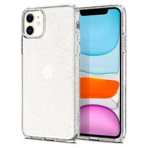 Spigen スマホケース iPhone11 ケース  リキッド・クリスタル グリッター  6.1インチ 対応 TPU クリア 薄型 軽量 傷防止 カメラ保護 Qi充電 ワイヤレス充電|spigenjapan2009