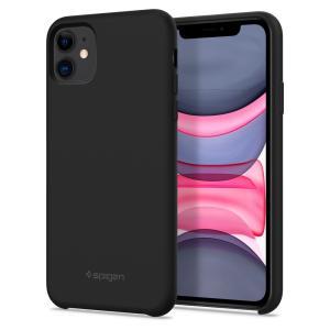 Spigen iPhone 11 ケース シリコンフィット  6.1インチ 対応 レンズ保護 超薄型...