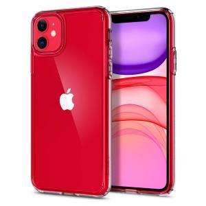 Spigen スマホケース iPhone11 ケース ウルトラ・ハイブリッド 6.1インチ 対応 背...