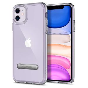Spigen スマホケース iPhone11 ケース  ウルトラ・ハイブリッド S 6.1インチ 対...