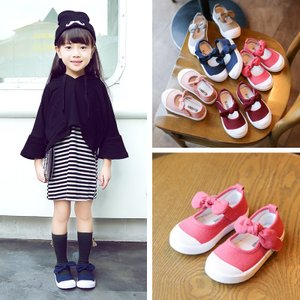 子供靴 スニーカー キッズ ダンスシューズ 女の子 キャンバス ダンス靴 ジュニア ベビー 韓国|spillhope0601