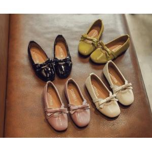 キッズシューズ パンプス 子供靴 リボン フォーマルシューズ 軽量 ジュニア 女の子 靴 入学式 発表会 卒業式 結婚式|spillhope0601