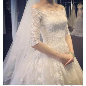ブライダル ウエディングドレス ロングドレス 結婚式 お花嫁 白 パーティードレス 二次会 ブライダル  ワンピース チュチュ 編み上げ spillhope0601
