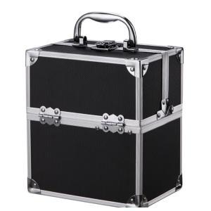 コスメボックス プロ仕様 メイクボックス 化粧ボックス コスメバッグ メイクバッグ 多機能 化粧品収納 収納ケース 美容 ネイルの写真