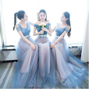 パーティードレス 二次会ドレス お花嫁ドレス ロングドレス  ウエディングドレス 白 エンパイア 結婚式 披露宴 演奏会 発表会 多色|spillhope0601