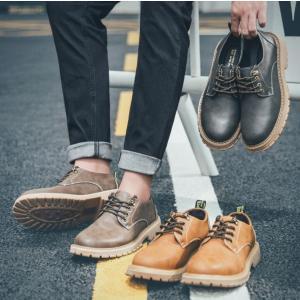 エンジニアブーツ メンズ ジョッパーブーツ 厚底 ショートブーツ シューズ ミリタリー ワークブーツ 靴 革靴 紳士靴|spillhope0601