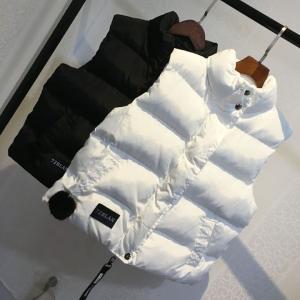ベスト 中綿ジャケット レディース  中綿ダウンコート 袖なし 秋冬 ショート丈  スリム  体型カバー アウター  防寒着 |spillhope0601