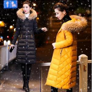 レディース 中綿コート ロングコート 中綿ダウンジャケット ファー ダウンコート アウター  着痩せ 防寒着  冬  フード付き |spillhope0601