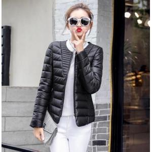 レディース 中綿ジャケット ショートコート 中綿ダウンコート コンパクト 軽量 ダウンジャケット  アウター  冬  着痩せ|spillhope0601