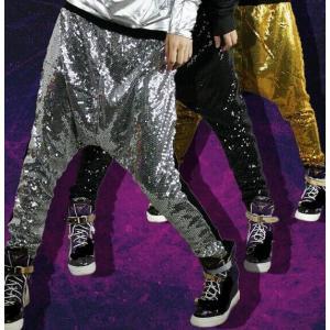 ダンスパンツ  ズボン ヒップホップダンス  衣装  レディース ロングパンツ  スパンコール 大人  ジャズ  ボトムス  コスチューム  練習着  演出服|spillhope0601