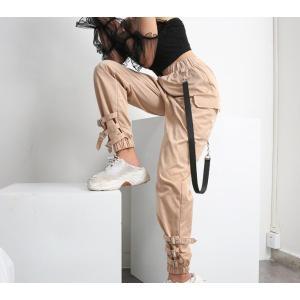 店長オススメ  ダンス 衣装  カーゴパンツ  ヒップホップ ズボン  ロングパンツ  カジュアル  大人  ジャズ  レディース  ボトムス  コスチューム  練習着|spillhope0601
