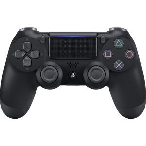 PS4 ワイヤレスコントローラー 純正 DUALSHOCK 4 ジェット・ブラック