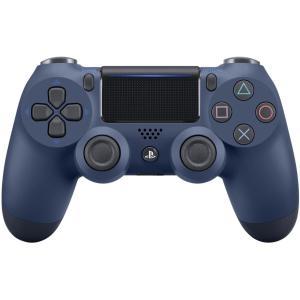 PS4 ワイヤレスコントローラー 純正 DUALSHOCK 4 ミッドナイト・ブルー