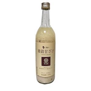 「おいしい雑穀甘酒」720ml  山口酒造場【庭のうぐいす】福岡県|spiral-shokutaku
