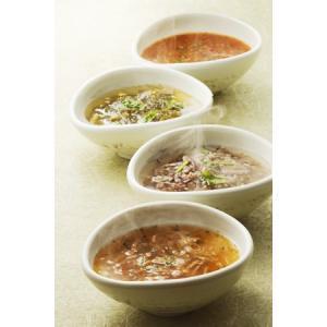 老舗鰹節専門店・林久右衛門商店の「野菜スープ3種」、「がごめ昆布スープ柚子入」計4種・ご贈答用16個箱入|spiral-shokutaku
