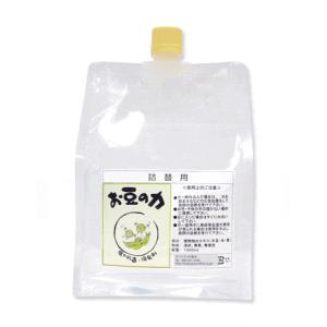 「お豆の力」詰替用1000ml|spiral-shokutaku