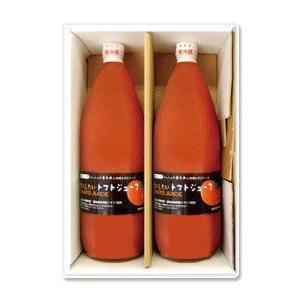 北海道産トマト100%「秘密にしたいトマトジュース」1L×2本・ご贈答用箱入|spiral-shokutaku|02