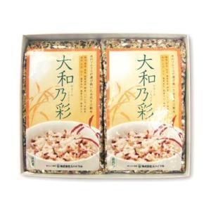 すべて九州産・雑穀米ブレンド「大和乃彩(やまとのいろどり)」500g・ご贈答用2個箱入|spiral-shokutaku|02
