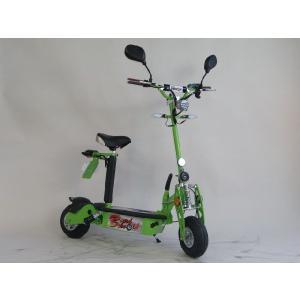 電動キックボード 公道可 折畳み電動ボードバイク グリーン