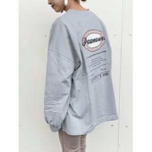 gleam(グリーム) Tシャツ ダエンロゴプリント L/S TEE (249040) レディース□|spisurre