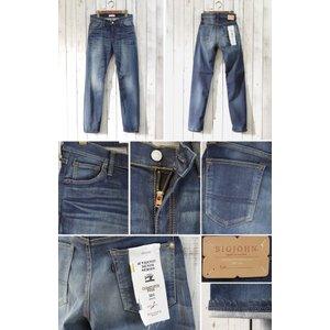 ビッグジョン【BIG JOHN】 HIGH POWER SKINNY (bjm305f-252) Men's|spisurre|02