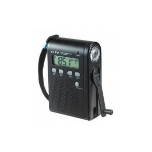 ELPA ダイナモラジオライト DOP-DY269送料無料 ハンドル 手動 非常時 spl