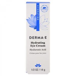[NEW] ダーマE ヒアルロン酸&ピクノジェノール配合 ハイドレーティング アイクリーム 14g Derma E spl