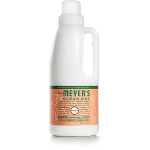 ミセスメイヤーズ ファブリックソフナー (柔軟剤) ゼラニウムの香り (946ml) /Mrs. Meyers Clean Day|spl