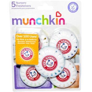 マンチキン アーム&ハンマー ナーサリー フレッシャー ラベンダーの香り 5個 Munchkin|spl